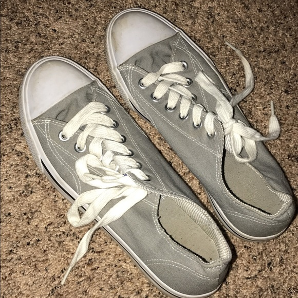 Target Brand Grey Sneakers   Poshmark